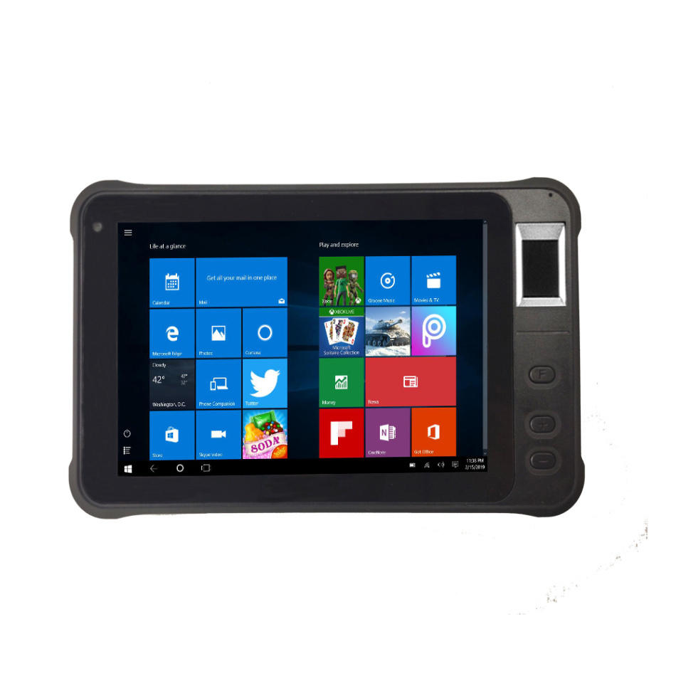 Original Kcosit K75 Rugged Windows 10 Home Phablet 4G Lte Fingerprint Recognition IP67 Waterproof Tablet PC Phone 7