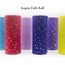 Baby Shower Tulle Roll Spool Glitter Sequin 25Yard 15cm Tutu Wedding Decoration Skirt Fabric Party Supplies Organza