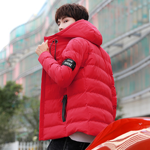Image 3 - 2018 Brand Winter Jacket Men Warm Padded Hooded Overcoat Fashion Casual Down Parka Male Jacket And Coat Hoodies Outerwear 4XL