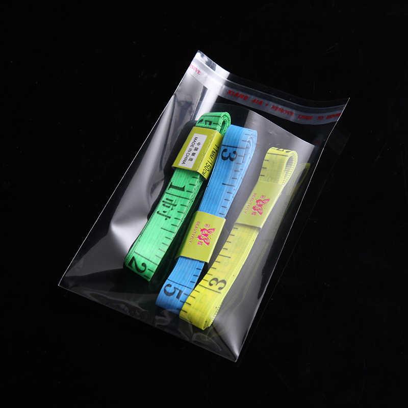 Saco autoadesivo claro do celofane do celofane sacos de plástico pequenos da selagem do auto para o empacotamento resealable do biscoito da embalagem dos doces