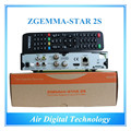 10pcs/lot  Smart IPTV Cable Box Zgemma-Star 2S FTA Satellite Receiver With Dual Core Linux OS Enigma2 PVR DVB-S2+S2 Twin Tuners