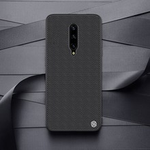 for Oneplus 7 Pro case Nillkin Textured Nylon Fiber case for Oneplus7 for one plus 7 case back cover Non slip durable business