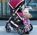 Bora cochecito de bebé suspensión plegable ligero de cuatro ruedas bb bebé cochecito de bebé