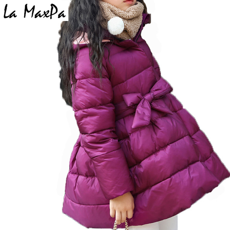 New Girls Winter Coats and Jackets Children Girls Parka Spring Autumn Warm Girls Clothes 2018 Big Teen Age 24M-7T Year children autumn and winter warm clothes boys and girls thick cashmere sweaters