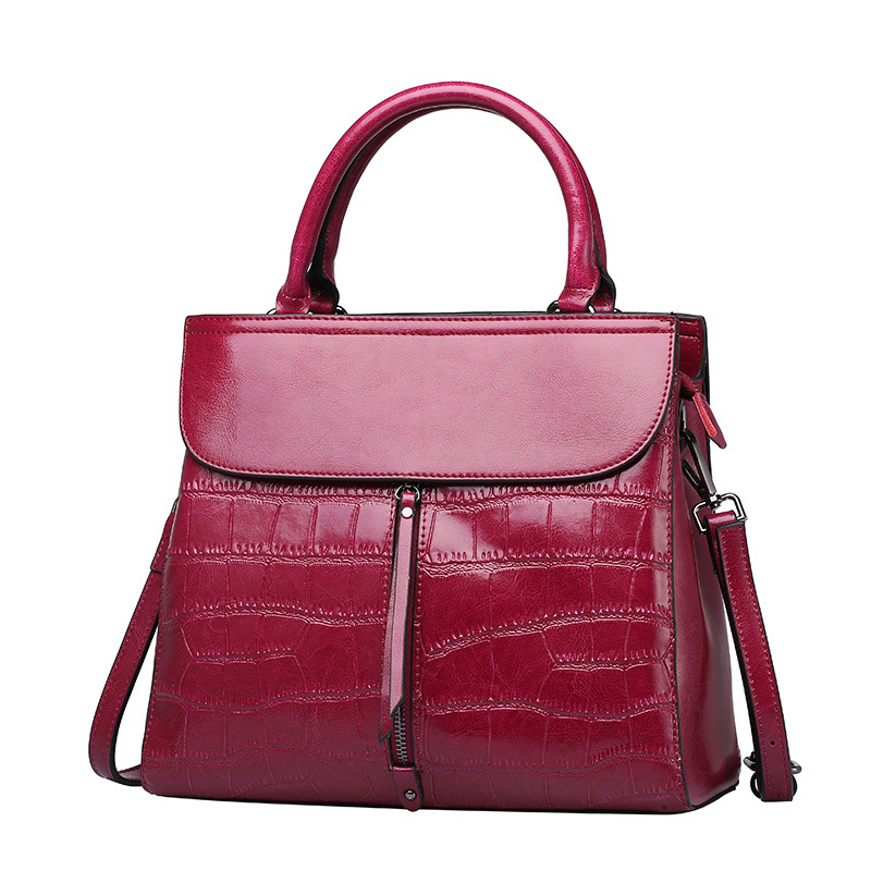 New European Genuine Leather Women Handbag Fashion Design Elegant Shoulder Bag Ladies OL Briefcase Crossbody Bag 4colors hp 932xl cn053ae