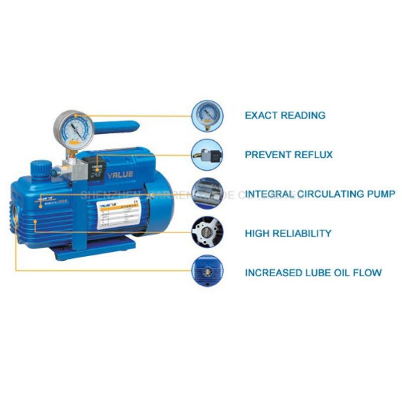 Vacuum Pump Single-stage New Refrigerant Single-phase Vacuum Pump For R410a, R407C, R134a, R12, R22 Refrigerant V-i120SV 220v 180w v i120sv new refrigerant vacuum pump air conditioning pump vacuum pump for r410a r407c r134a r12 r22
