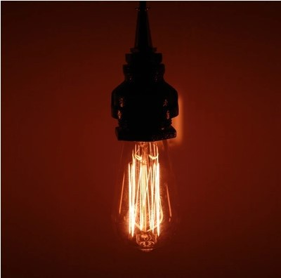 60W Retro Style Loft Industrial Lamp Vintage Pendant Light Water pipe Hanging Light ,Lamparas Vintage Colgantes retro style loft led vintage industrial lighting led pendant light hanging lamp lamparas vintage colgantes e14 1 bulb included