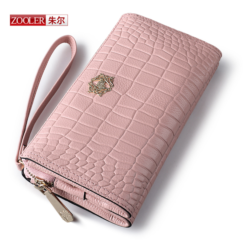 ZOOLER New arrival Genuine leather Day Clutches fashion Party clutches ladies casual classic black bags for
