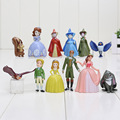 12pcs/lot 3-5cm Sofia Princess PVC Action Figures toy sophia doll the first Princesses figure Toys