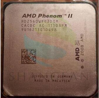 AMD Phenom X2 560 3.3GHz Dual-Core CPU Processor  HDZ560WFK2DGM 80W Socket AM3 938pin