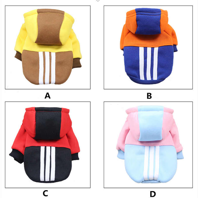 NEW Cat Hooded Sweater Cat Puppy Pet Costume Hoodie Autumn and Winter Small Dog Clothes Brand Small Pet Coat for Cats Chihuahua