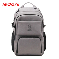 LEDANI Men Women USB Charging Laptop Backpacks Large Capacity Anti Theft Backpack Casual Business Computer Backpack