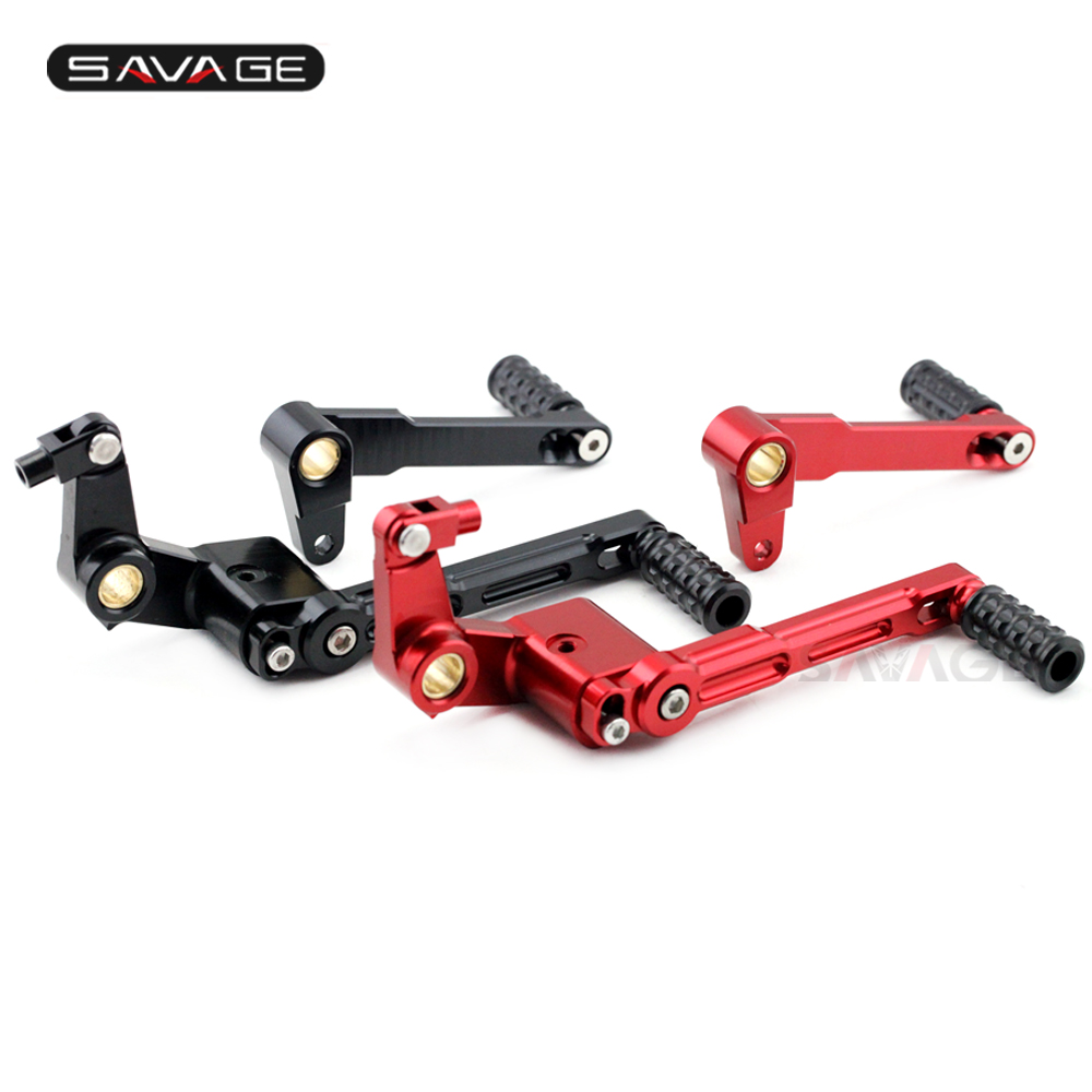 Gear Shift Lever Shifter Pedal Levers Rear Brake Lever For DUCATI MONSTER 696/796/1100/1100S MONSTER696 MONSTER796 2008-2016 NEW