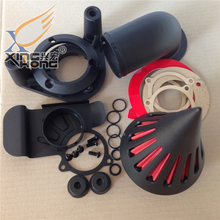 Aftermarket free shipping motor parts Spike Air Cleaner filter for Harley Davidson 2008-2012 TOURING FLHTC Street Glide Black