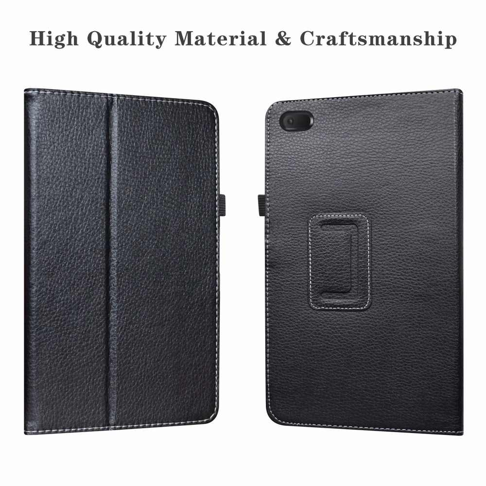 "Vouwen Folio Case Voor 7.0 ""Lenovo TAB E7 7 inch 2018 Tablet Folding Stand PU Lederen cover met Magnetische sluiting Anti-Dust"