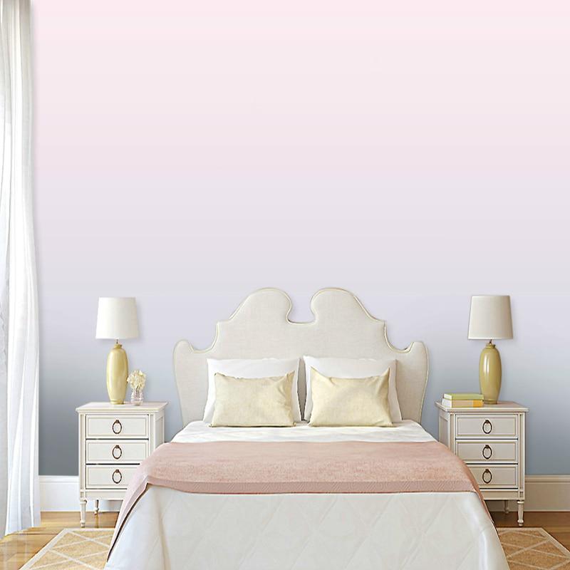 Modern Simple Plain Wallpaper Backdrop Bedroom Living Room Background Hotel Villa Gradient Wallpaper Custom Wallpaper