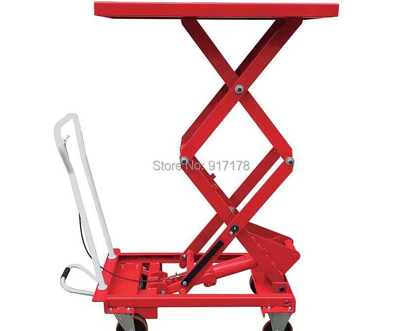 350 kg scissor lift table cart  цены