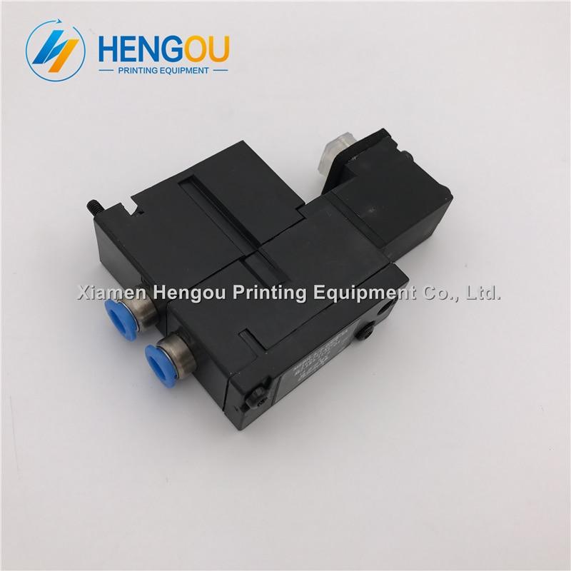6 Pieces China post free shipping Heidelberg solenoid valve FESTO MEBH-4/2-QS-4-SA for SM102 CD102 SM52 PM52 M2.184.1111/05 1 piece heidelberg valve m2 184 1121 festo original solenoid valve mebh 4 2 qs 6 sa m2 184 1121 05