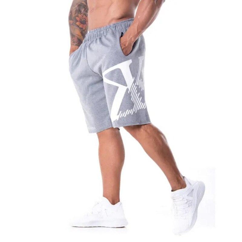 2019 Summer Mens Brand Jogger Sporting   Shorts   Slimming Men Black Bodybuilding   Short   Pants Male Fitness Gyms   Shorts   for workout
