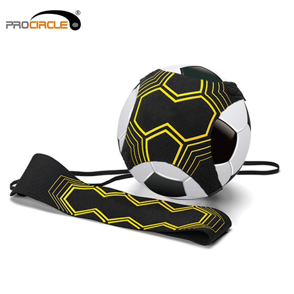 Procircle Adjustable Soccer Ball Juggle Bags Soccers Trainer Belt For Football Kick Practice