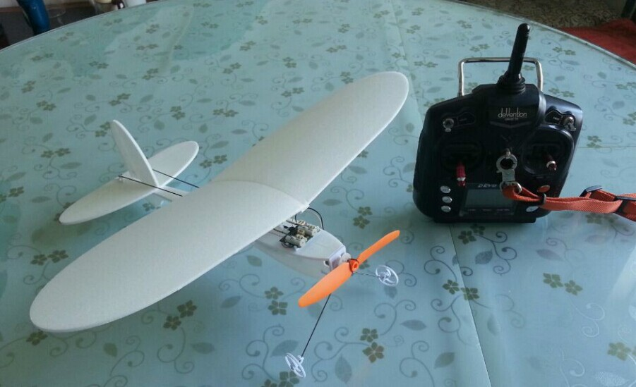 micro aircraft KITS DIY RC micro plane