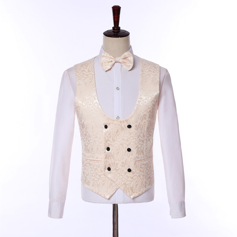 Broderie Image Image Mariage Costumes Marié Made Slim Fit Mens Custom veste as Convient Pièces The Masculino 3 As De Gilet Terno Bal Smoking Pantalon q1yg5S1xXw