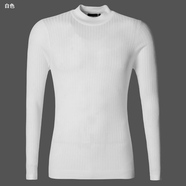Woolen Black Textured Pullovers 22