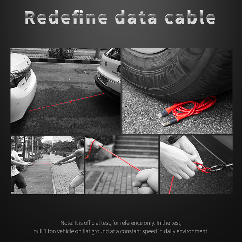 Image 3 - 10PCS Hi Tensile USB Cable For Micro USB 3A Fast Charger-in Mobile Phone Cables from Cellphones & Telecommunications