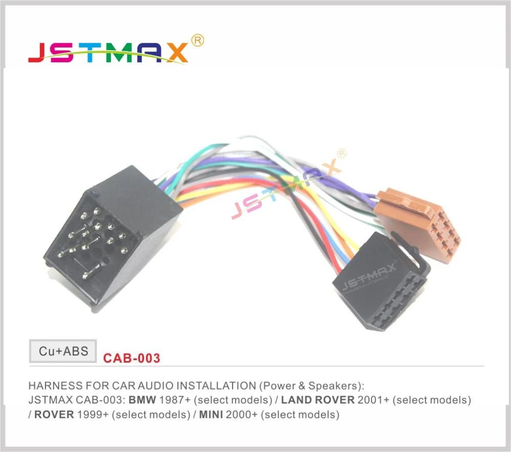 jstmax iso radio adapter for bmw compact e30 e36 e46 e34 e39 wire wiring  harness connector lead loom cable plug adaptor stereo|iso radio adapter| radio adapteriso radio - aliexpress  aliexpress