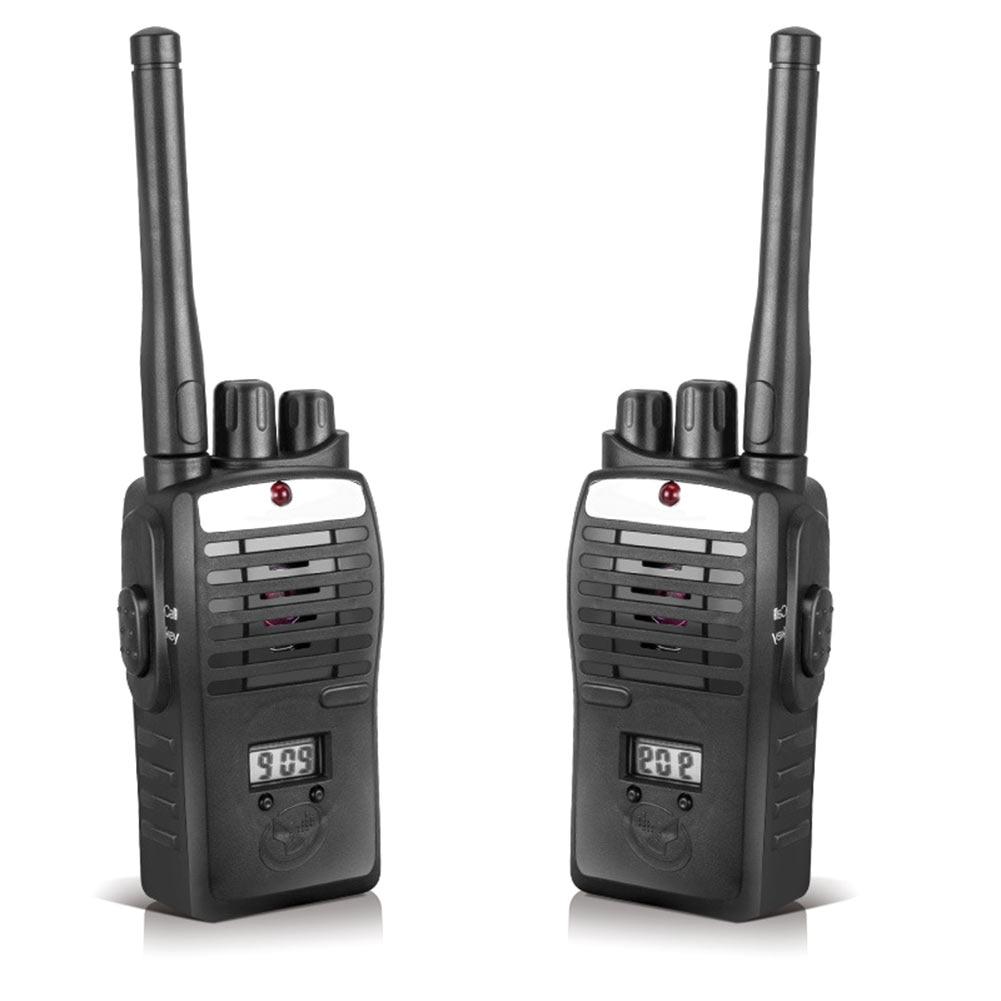 2pcs Electronic Interphones Ear Game Walkie Talkie Interphone Intercom Children Kid Toys YH-17