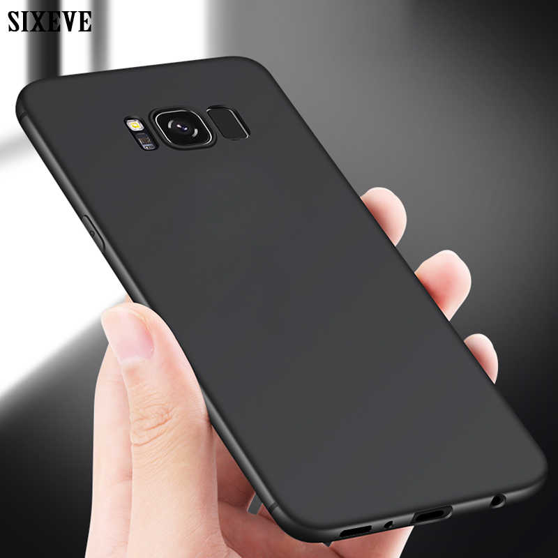 Enam Belas Ultra Tipis Ponsel Case untuk Samsung Galaxy S6 S7 Edge S8 S9 S10 E Lite Plus S8Plus S9Plus duos TPU Silicone Back Cover