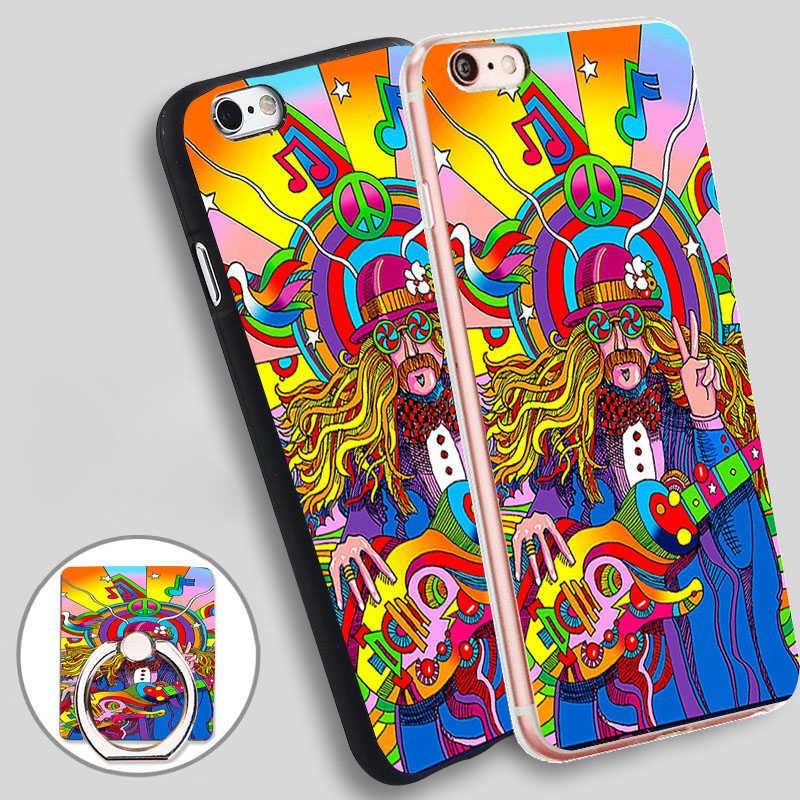 Brand-new coque iphone 7 plus hippie FS29