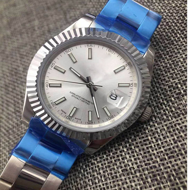 Luxury Brand New Men Automatic Mechanical Watch Datejust Stainless Steel Sapphire Silver Gold Green Dial  Watches 40mm AAA+Luxury Brand New Men Automatic Mechanical Watch Datejust Stainless Steel Sapphire Silver Gold Green Dial  Watches 40mm AAA+