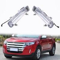 12V DRL LED Car Auto Light Daytime Running Light For Ford Edge First Generation 2011 2014