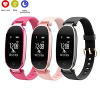 S3 Smart Band Heart Rate Monitor Lady Female Fitness IP67 Waterproof Smartband Bracelet Tracker Bluetooth Women