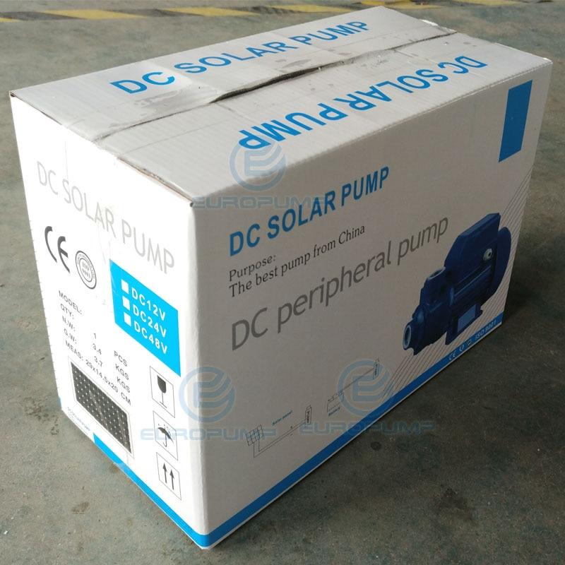 EUROPUMP MODELL (YSQB 12) Freies Verschiffen 15 m lift 12 v DC tauch solar wasserpumpe, 0,3 hp tiefbrunnen solar powered oberfläche pumpe - 2