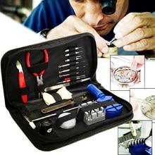 19pcs Watch Repair Tool Kit Case Opener Tool Remover Watchmaker Watches Repair Tools  Remover Screwdrivers for Watchmaker цена