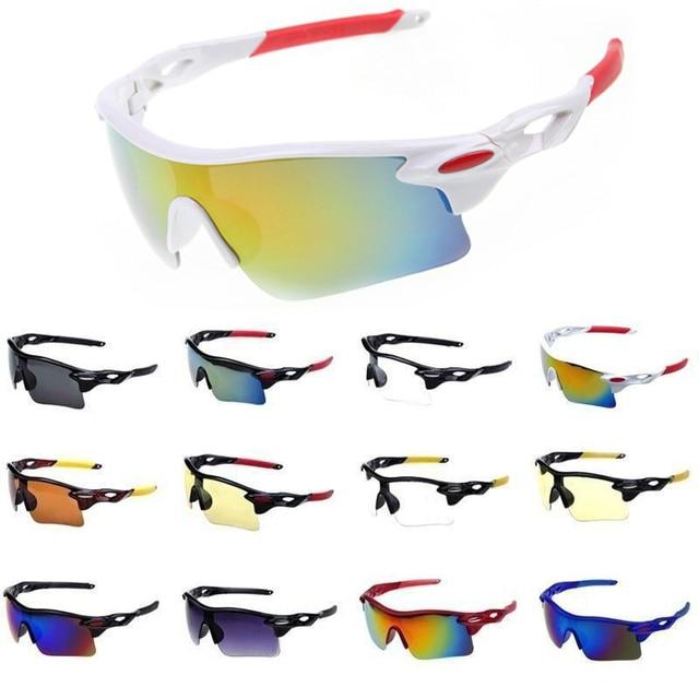 ספורט משקפי שמש לגברים ונשים Windproof UV400 רכיבה על אופניים ריצת נהיגה דיג גולף בייסבול סופטבול טיולים משקפיים Eyewear