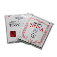 4 Pcs Set German Pirastro Tonica Silver Violin Strings A E G D Full Size Violino