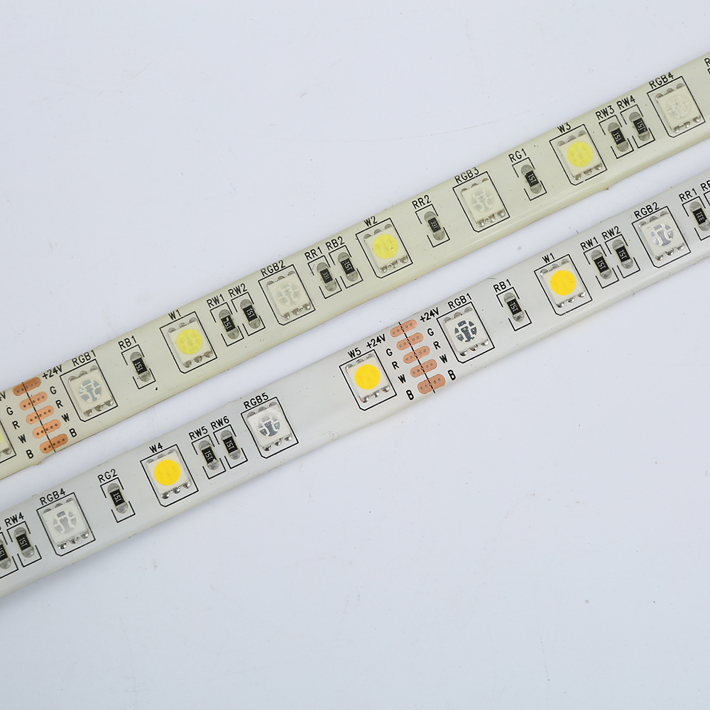 dc24v rgbw led strip light 5050 smd 12mm pcb 5m 60 leds m. Black Bedroom Furniture Sets. Home Design Ideas