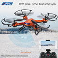 Original JJRC H12WH 2.4G 4CH 6-axis Gyro WiFi FPV Quadcopter RC Drone With 2.0MP HD Camera RTF CF Mode 3D-flip Set-height Mode