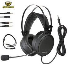 Nubwo N7 Gaming auriculares estéreo de reducción de ruido Bass teléfono móvil juego auriculares con micrófono para Xbox One PC PS4 gamer