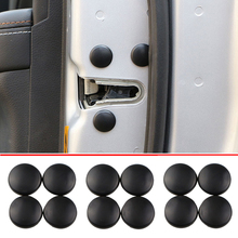 12 Pc רכב דלת נעילת בורג מגן כיסוי עבור סקודה אוקטביה A2 A5 A7 פאביה Rapid Superb Yeti רומסטר