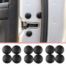 12pçs tampa de protetor de parafuso da fechadura, cobertura de protetor para skoda octavia a2 a5 a7 fabia, proteção rápida yeti roomster