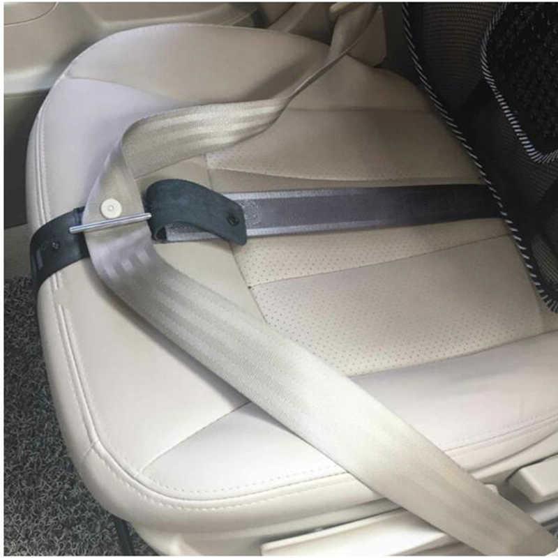 รถตั้งครรภ์ความปลอดภัยที่นั่งเข็มขัดหน้าท้องเข็มขัดไดรฟ์คลอดบุตรเข็มขัดนิรภัยหนังล็อคความปลอดภัย