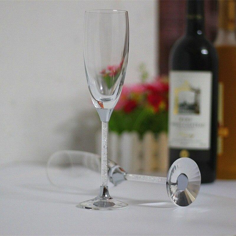 2019. gada bezsvina kristāla stikla kauss šampanieša - Virtuve, ēdināšana un bārs