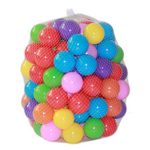 Eco-Friendly Colorful Soft Water Pool Ocean Wave Ball Pits Baby Funny Toys Stress Air Ball Kids Outdoor Fun Sports Dia 5.5cm 100 недорого