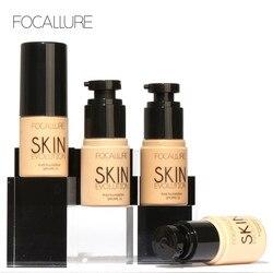 FOCALLURE Face Makeup Base Liquid Foundation make up CC BB Cream Concealer Perfect Cover Foundation Primer F