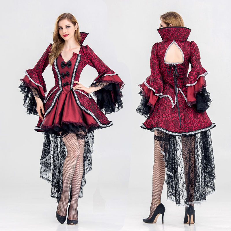 Deluxe Renaissance Medieval Costumes Halloween Ball Gowns queen Costume Adult Lolita Gothic Fancy Dress Victorian Carnival-in Holidays Costumes from Novelty ...  sc 1 st  AliExpress.com & Deluxe Renaissance Medieval Costumes Halloween Ball Gowns queen ...