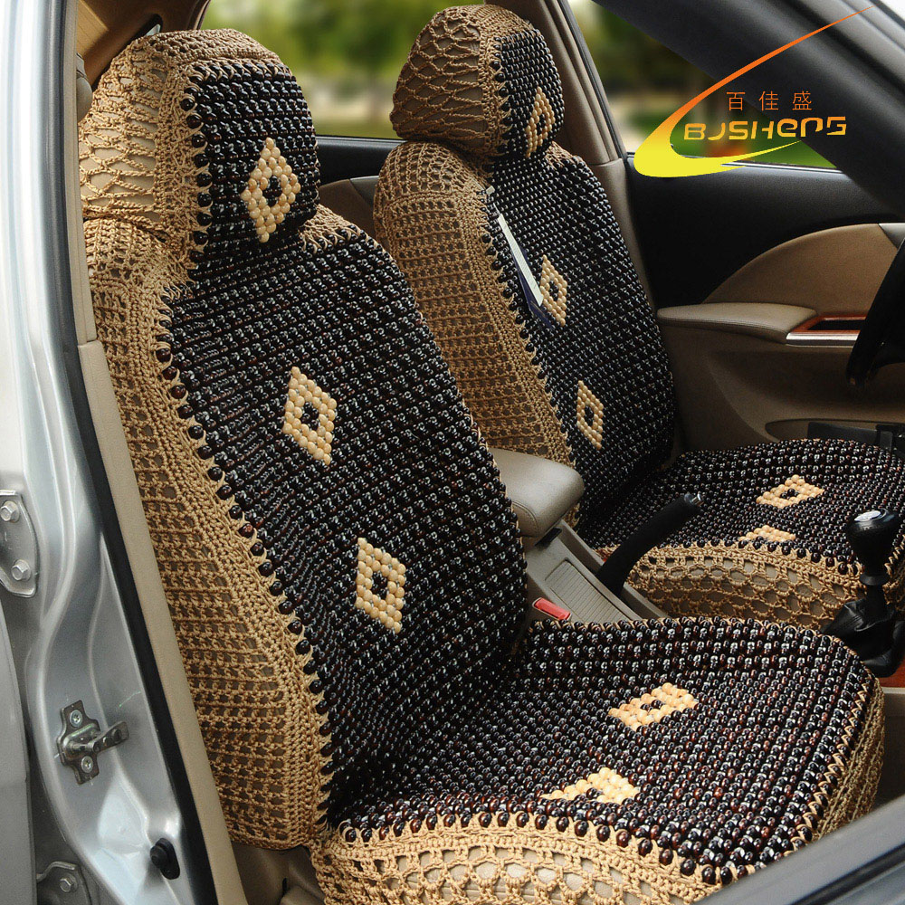 Baijia Yew Wood Bead Double Faced Quality Viscose Cushion Car Seat In Automobiles Covers From Motorcycles On Aliexpress